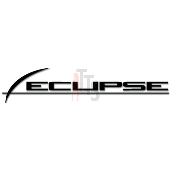 Eclipse Car Audio Decal Sticker Style 2