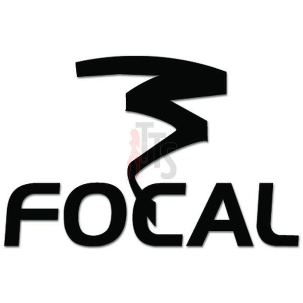 Focal Car Audio Decal Sticker