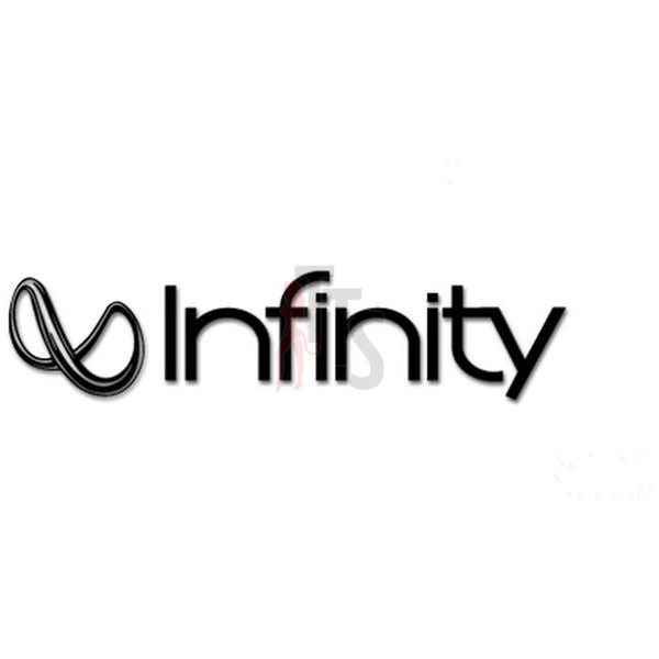 Infinity Car Audio Decal Sticker Style 2