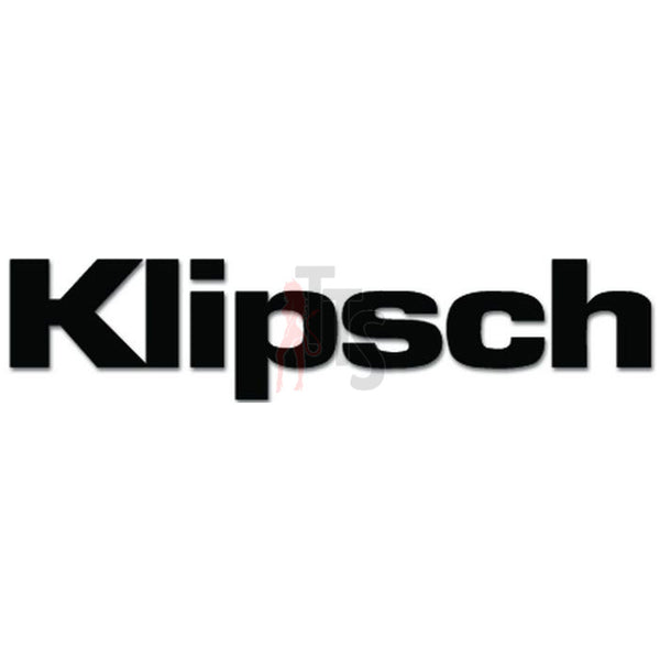 Klipsch Car Audio Decal Sticker