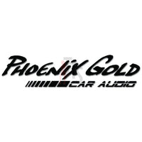 Phoenix Gold Vinyl Decal Sticker Style 1
