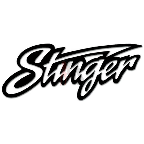 Stinger Vinyl Decal Sticker