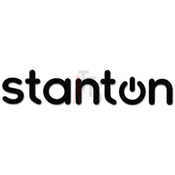 Stanton Car Audio Decal Sticker