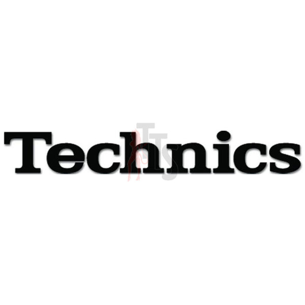Technics Car Audio Decal Sticker