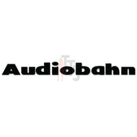 Audiobahn Car Audio Decal Sticker