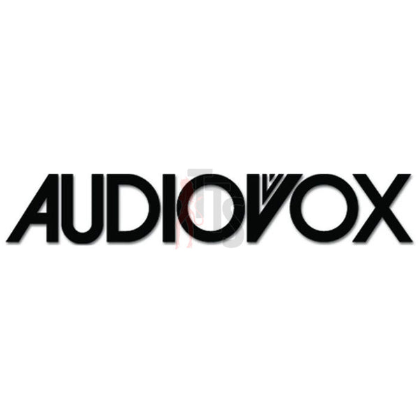 Audiovox Car Audio Decal Sticker