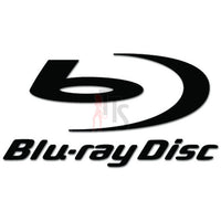 Bluray Disc Car Audio Decal Sticker