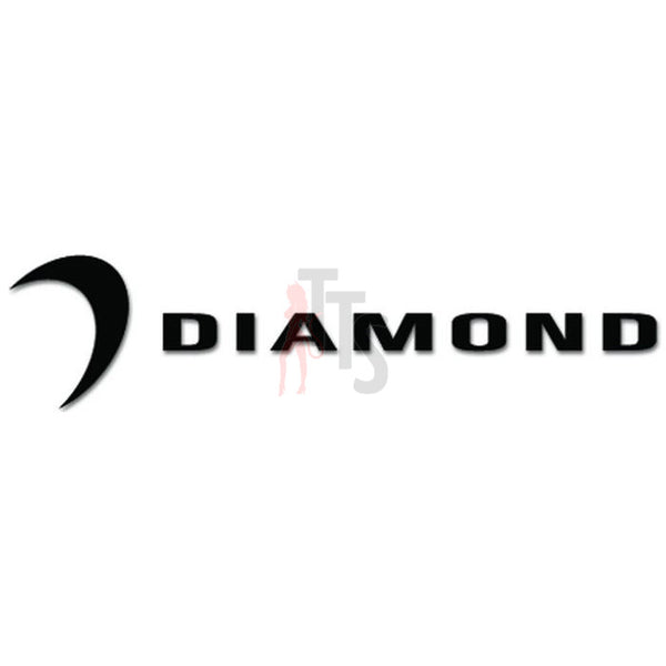 Diamond Car Audio Decal Sticker