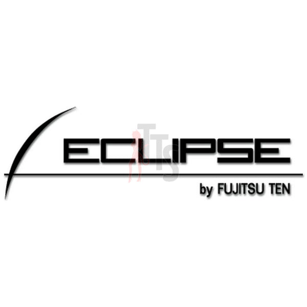 Eclipse Car Audio Decal Sticker Style 1