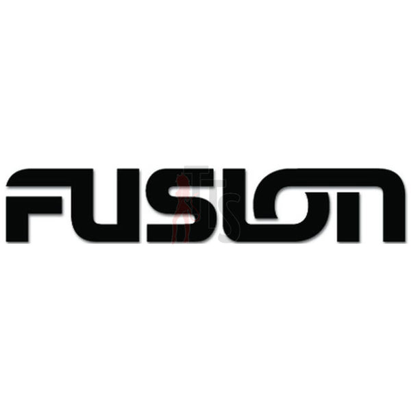Fusion Car Audio Decal Sticker