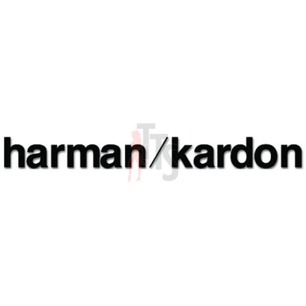 Harmon Kardon Car Audio Decal Sticker