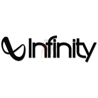 Infinity Car Audio Decal Sticker Style 1