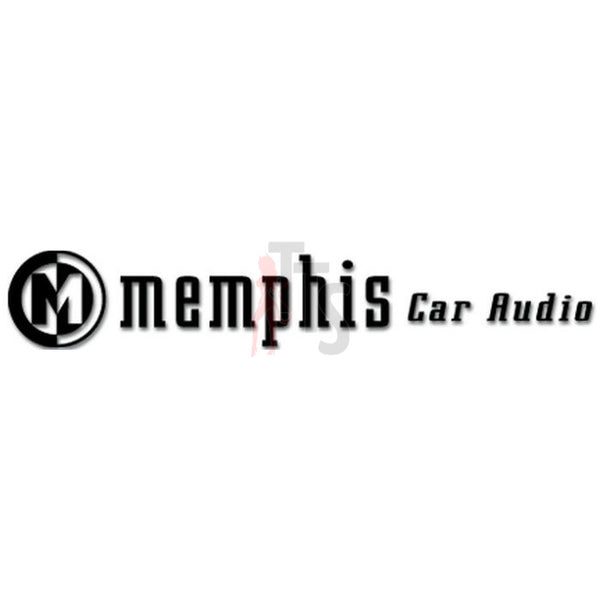 Memphis Car Audio Decal Sticker