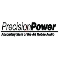 Precision Power Car Audio Decal Sticker Style 1