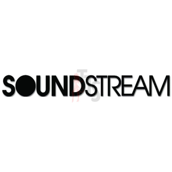 Sounstream Car Audio Decal Sticker