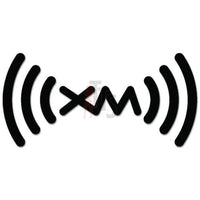 SiriusXM Car Audio Decal Sticker