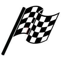 Racing Checkered Flag Decal Sticker Style 9