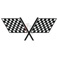 Racing Checkered Flag Decal Sticker Style 10