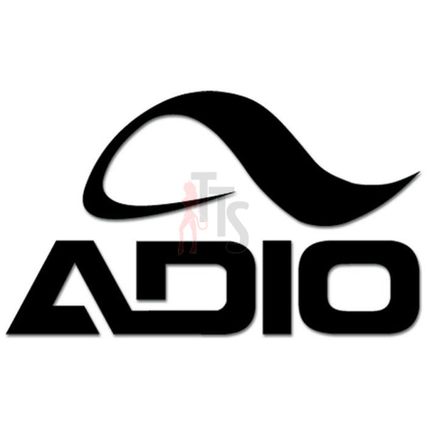 Adio Skate Logo Decal Sticker Style 1