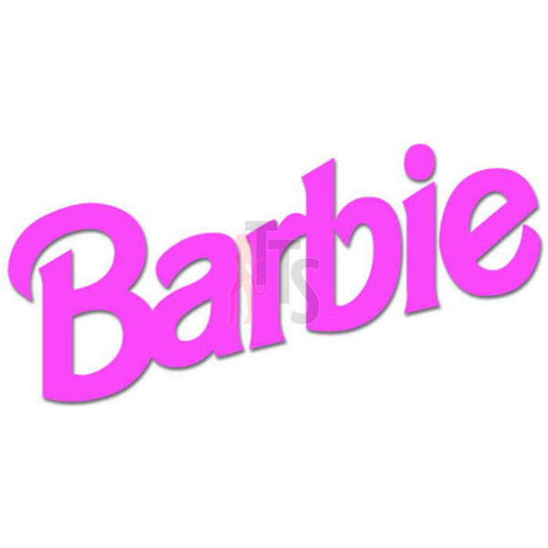 Barbie Logo Decal Sticker Style 1