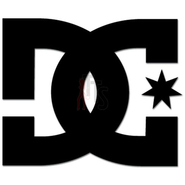 DC Shoes Logo Decal Sticker Style 1