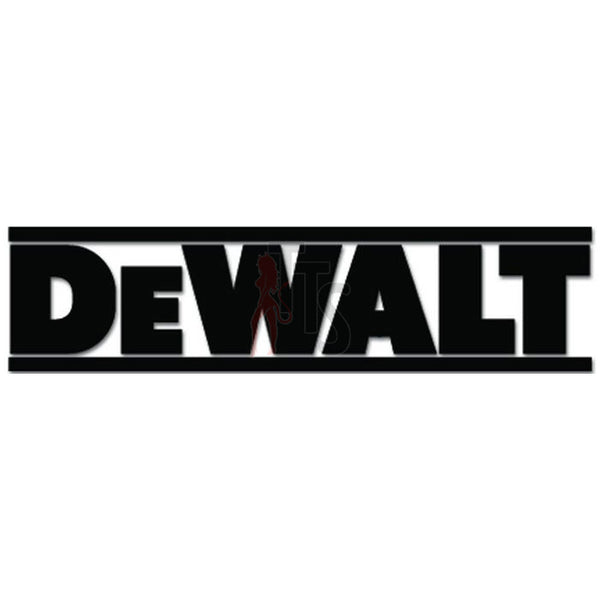 Dewalt Logo Decal Sticker