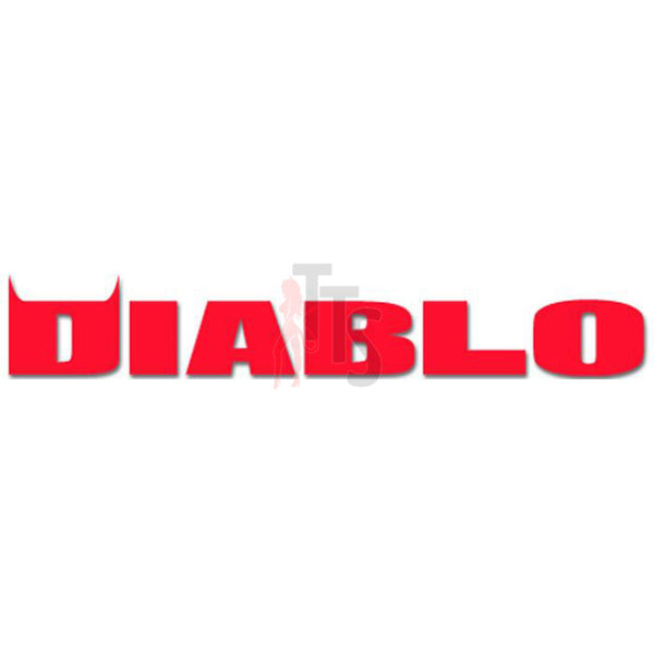 Diablo Tires Logo Decal Sticker