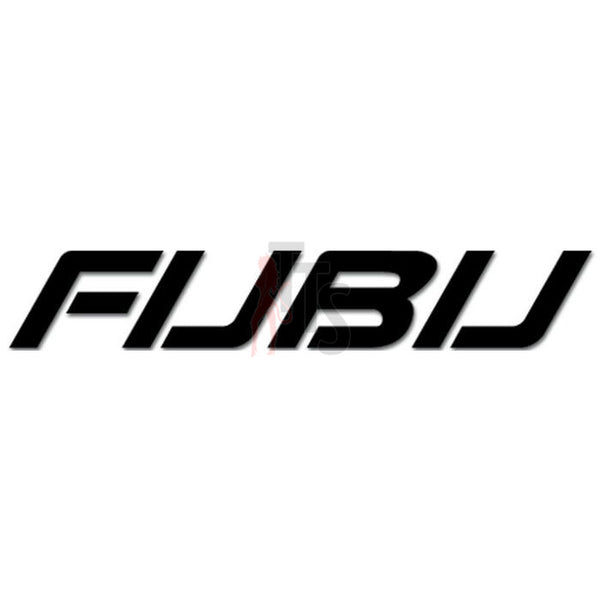 FUBU Logo Decal Sticker