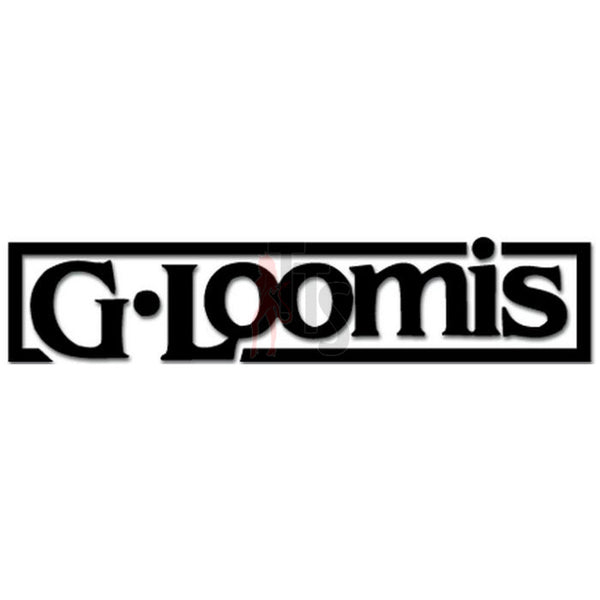 G Loomis Logo Decal Sticker Style 2