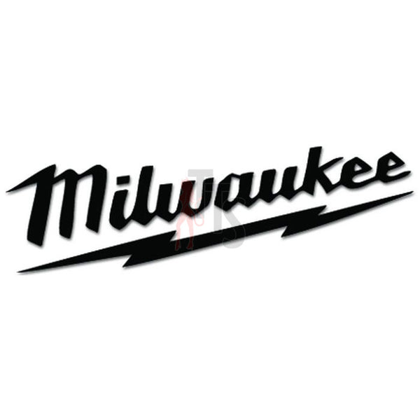 Milwaukee Power Tool Logo Decal Sticker