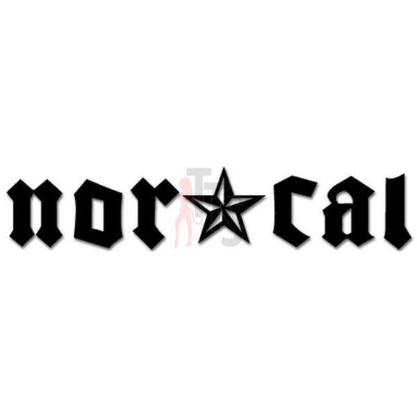 Norcal Logo Decal Sticker