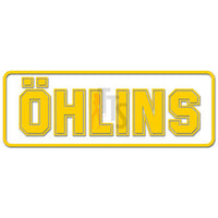 Ohlins Logo Decal Sticker