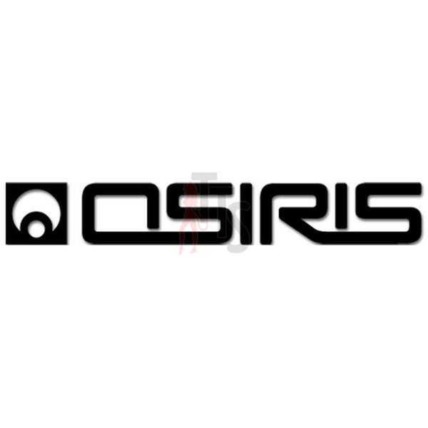 Osiris Circle Skate Logo Decal Sticker Style 1