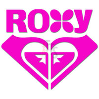 Roxy Logo Decal Sticker Style 1