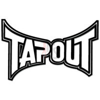 Tapout Logo Decal Sticker