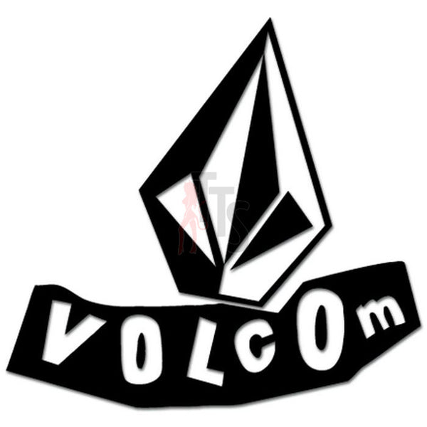 Volcom Diamond Logo Decal Sticker Style 2