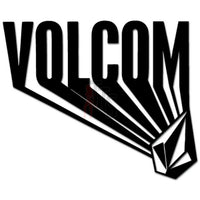 Volcom Diamond Logo Decal Sticker Style 3