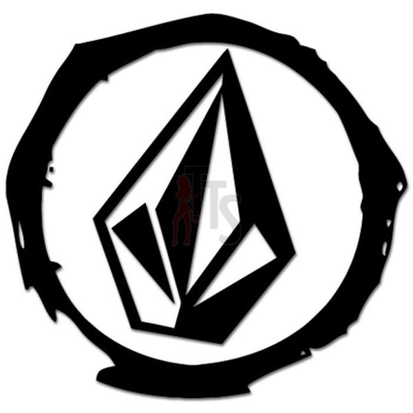 Volcom Diamond Logo Decal Sticker Style 4
