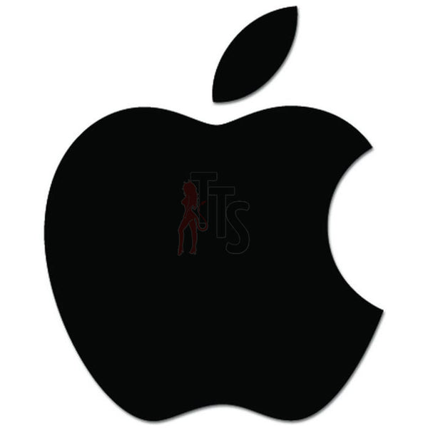 Apple Logo Decal Sticker