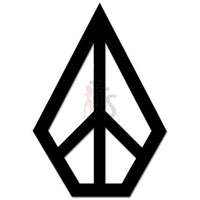 Volcom Peace Diamond Logo Decal Sticker