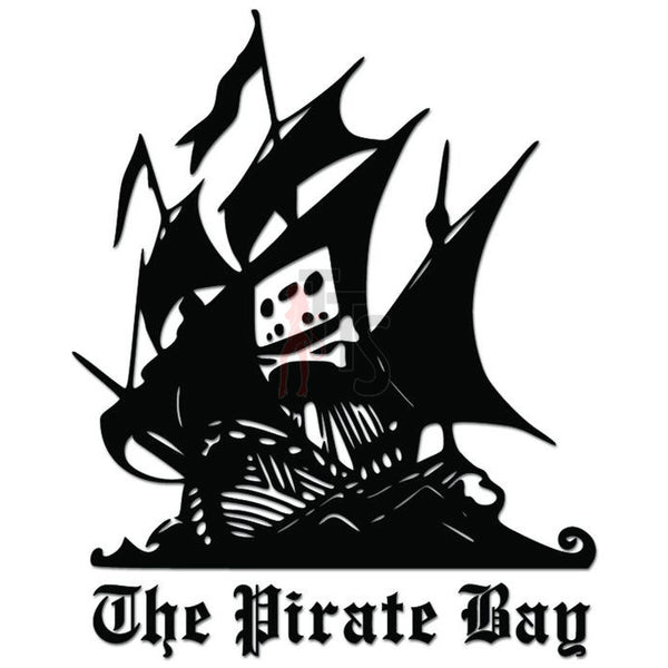 The Pirate Bay Logo Decal Sticker