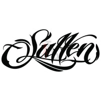 Sullen Clothing Logo Decal Sticker Style 1