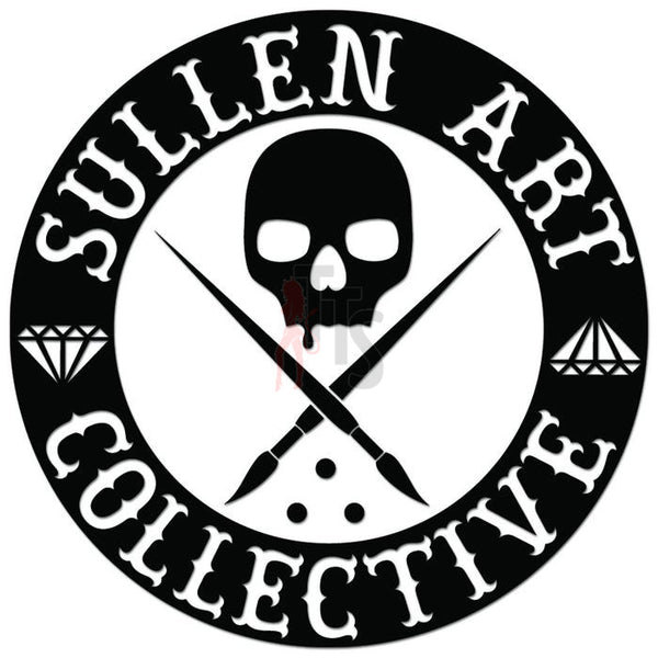 Sullen Clothing Logo Decal Sticker Style 2