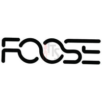 Foose Wheels Logo Decal Sticker