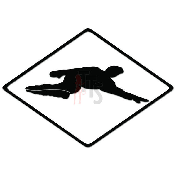 Freesurf Snowboard Logo Decal Sticker