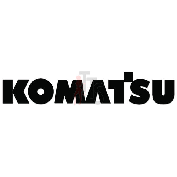 Komastsu Logo Decal Sticker