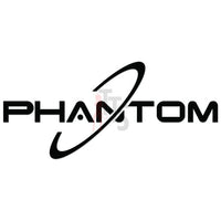 Phantom Drone Logo Decal Sticker
