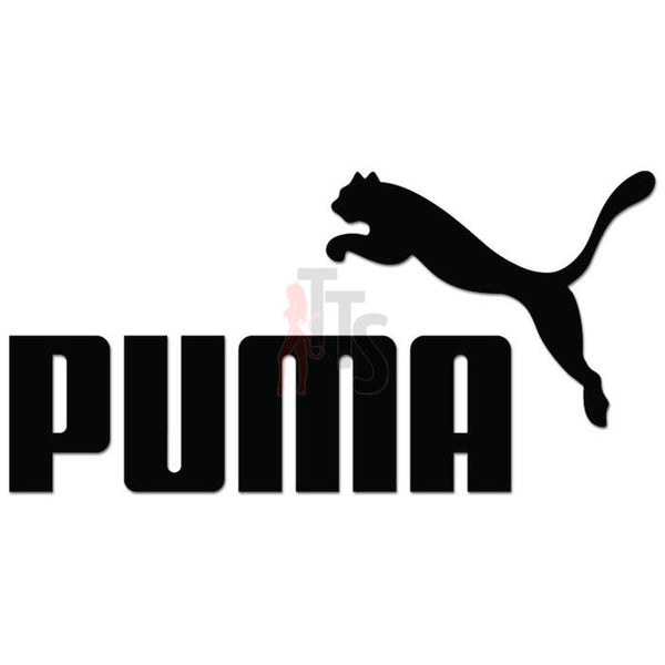Puma Logo Decal Sticker Style 2