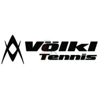 Volkl Tennis Logo Decal Sticker