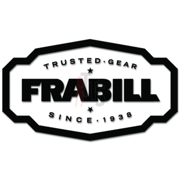 Frabill Logo Decal Sticker Style 2